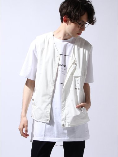 White Strap Vest