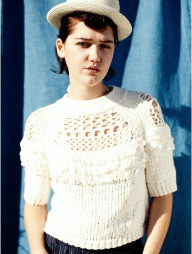 COTTON FANCY YARN pullover