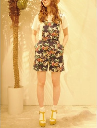 【xMiss Patina】TROPICAL OVERALL