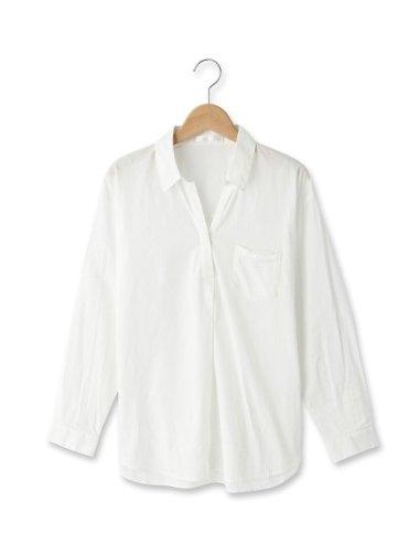 スタイライフオーガニック綿スキッパーシャツ