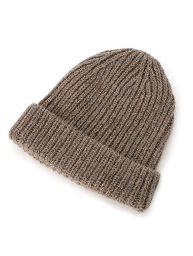 ウール混ニット帽