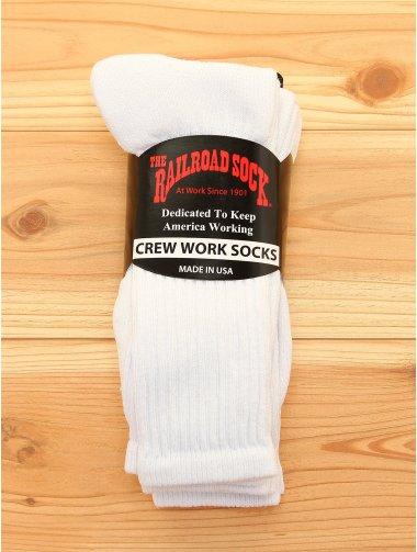 RAILROAD SOCK / 3Pクルーソックス BEAMS