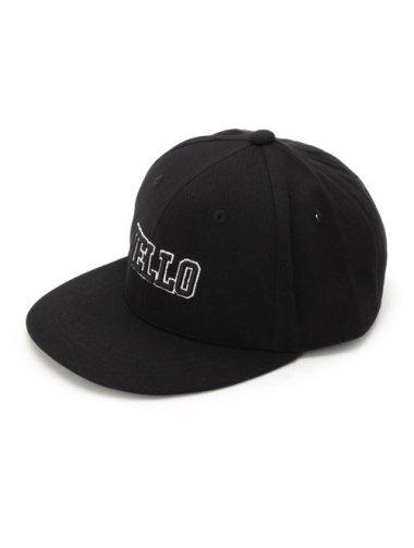 HELLO 刺繍CAP