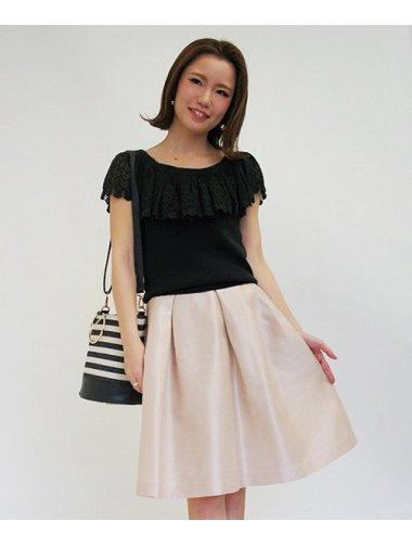 《sweetコラボアイテム》バックサテンシャンタンスカート