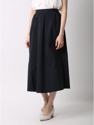 【WEB限定大きいサイズ】タイプライターフレアスカート