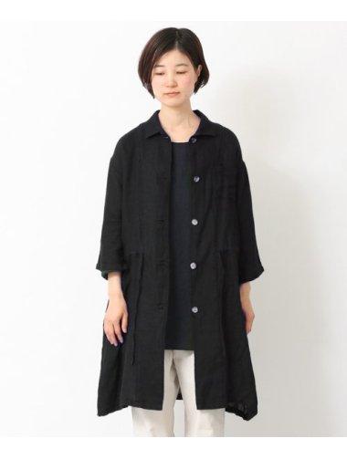 リネンガーゼのコート