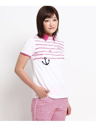 鹿の子マリンポロシャツ