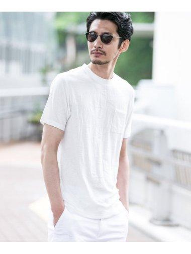スタイライフリーフジャガードサラサラTシャツ