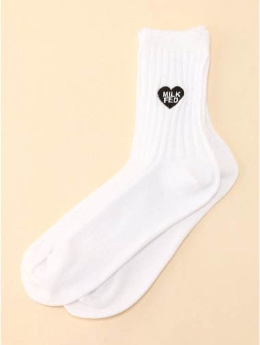 HEART SOX WHITE