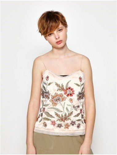 EMBROIDERY CAMISOLE II