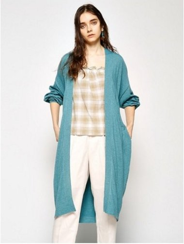 Loose Gown Cardigan