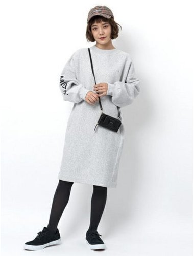 【MILKFED. xCHAMPION】SWEAT DRESS