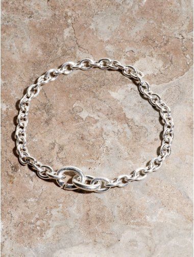 IDEALITE: LINK CHAIN BRACLET:イデアライト リンクチェーンブレスレット ミディアム