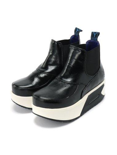 (L)エラスティックブーツ ブラック