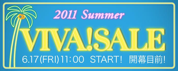 2011 Summer VIVA!SALE