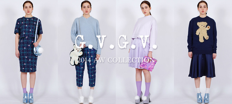 今季のテーマは「DREAM BEAR」。G.V.G.V. 2014AW COLLECTION 先行受注